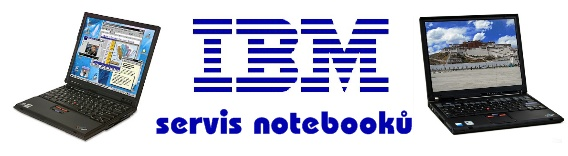 Notebooky IBM servis